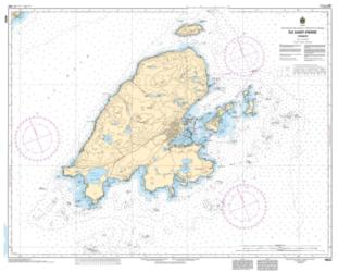 ILE SAINT-PIERRE (FRANCE) (4643) by Canadian Hydrographic Service