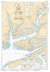 BAY D'ESPOIR AND/ET HERMITAGE BAY (4644) by Canadian Hydrographic Service