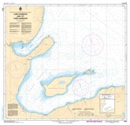 LARK HARBOUR AND/ET YORK HARBOUR (BAY OF ISLANDS) (4654) by Canadian Hydrographic Service