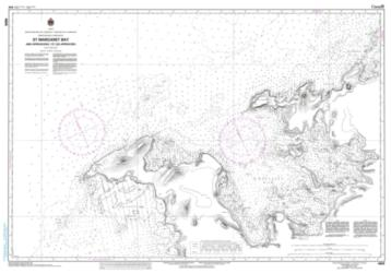 ST. MARGARET BAY AND APPROACHES/ET LES APPROCHES (4665) by Canadian Hydrographic Service