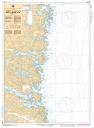CORBET ISLAND TO/A SHIP HARBOUR HEAD (4702) by Canadian Hydrographic Service