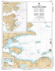 PLANS ON THE COAST OF LABRADOR (4712) by Canadian Hydrographic Service