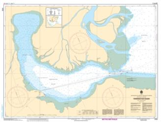 TERRINGTON BASIN (4722) by Canadian Hydrographic Service