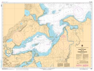 EPINETTE POINT TO/A TERRINGTON BASIN (4728) by Canadian Hydrographic Service