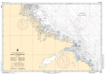 NAIN TO/A DOMINO POINT (4730) by Canadian Hydrographic Service