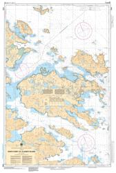 WHITE POINT TO/A SANDY ISLAND (4745) by Canadian Hydrographic Service