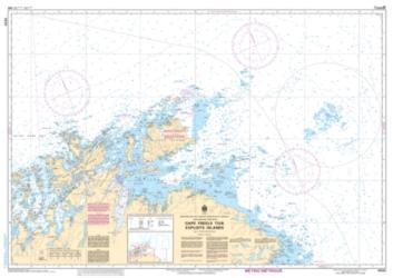 CAPE FREELS TO/A EXPLOITS ISLANDS (4820) by Canadian Hydrographic Service
