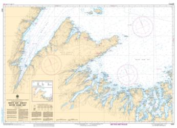 WHITE BAY AND/ET NOTRE DAME BAY (4821) by Canadian Hydrographic Service