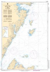CAPE ST. JOHN TO/A ST. ANTHONY (4822) by Canadian Hydrographic Service