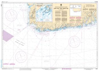 CAPE RAY TO/A GARIA BAY (4823) by Canadian Hydrographic Service