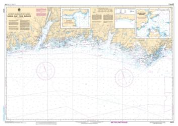 GARIA BAY TO/A BURGEO (4824) by Canadian Hydrographic Service
