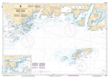BURGEO AND/ET RAMEA ISLANDS (4825) by Canadian Hydrographic Service