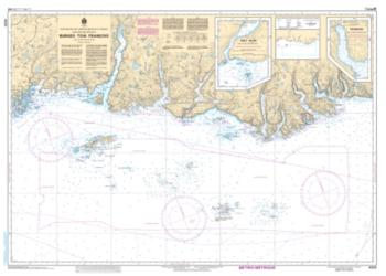 BURGEO TO/A FRANCOIS (4826) by Canadian Hydrographic Service
