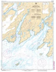 GREAT BAY DE L'EAU AND APPROACHES/ET LES APPROCHES (4830) by Canadian Hydrographic Service