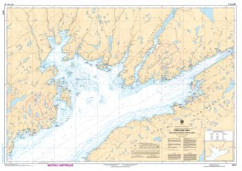 FORTUNE BAY - NORTHERN PORTION/PARTIE NORD (4831) by Canadian Hydrographic Service