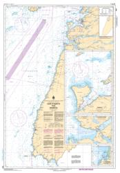 CAPE ST MARY'S TO/A ARGENTIA (4841) by Canadian Hydrographic Service