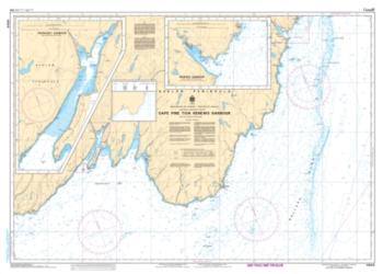CAPE PINE TO/A RENEWS HARBOUR (4844) by Canadian Hydrographic Service