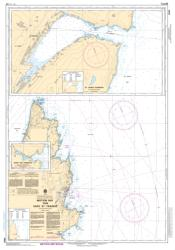 MOTION BAY TO/A CAPE ST FRANCIS (4846) by Canadian Hydrographic Service