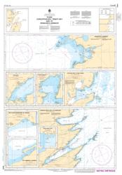 PLANS, CONCEPTION BAY, TRINITY BAY AND/ET BONAVISTA HARBOUR (4849) by Canadian Hydrographic Service
