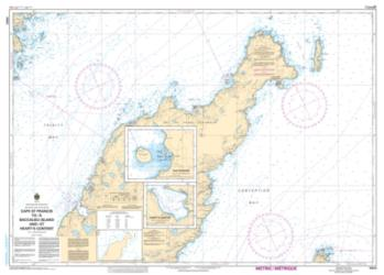 CAPE ST. FRANCIS TO/A BACCALIEU ISLAND AND/ET HEART'S CONTENT (4850) by Canadian Hydrographic Service