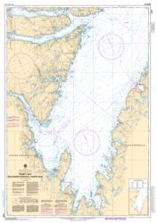 TRINITY BAY - SOUTHERN PORTION/PARTIE SUD (4851) by Canadian Hydrographic Service