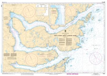 SMITH SOUND AND/ET RANDOM SOUND (4852) by Canadian Hydrographic Service