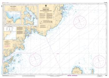 TRINITY BAY - NORTHERN PORTION/PARTIE NORD (4853) by Canadian Hydrographic Service