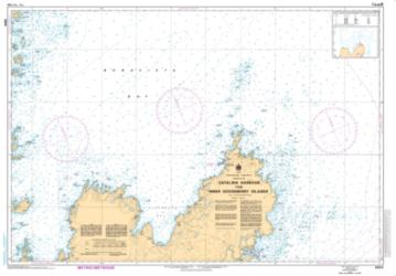 CATALINA HARBOUR TO/A INNER GOOSEBERRY ISLANDS (4854) by Canadian Hydrographic Service