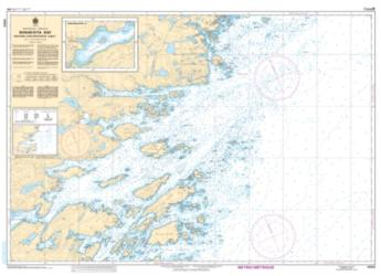 BONAVISTA BAY, WESTERN PORTION/PARTIE OUEST (4856) by Canadian Hydrographic Service