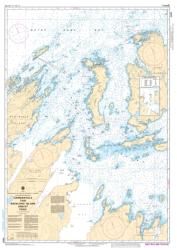 CARMANVILLE TO/A BACALHAO ISLAND AND/ET FOGO (4862) by Canadian Hydrographic Service