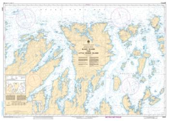 BLACK ISLAND TO/A LITTLE DENIER ISLAND (4864) by Canadian Hydrographic Service