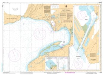 PORT HARMON AND APPROACHES/ET LES APPROCHES (4885) by Canadian Hydrographic Service