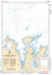 TWILLINGATE HARBOURS (4886) by Canadian Hydrographic Service