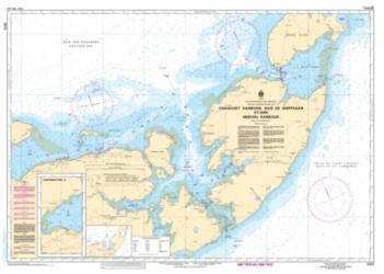 CARAQUET HARBOUR, BAIE DE SHIPPEGAN AND/ET MISCOU HARBOUR (4913) by Canadian Hydrographic Service