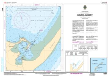 HAVRE-AUBERT (4957) by Canadian Hydrographic Service