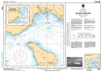 BLANC SABLON (4980) by Canadian Hydrographic Service