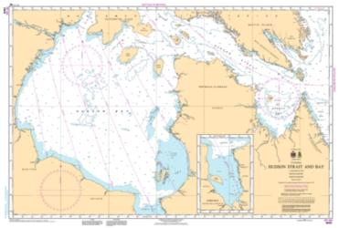 HUDSON STRAIT  AND BAY (5002) by Canadian Hydrographic Service