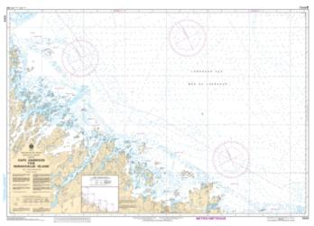CAPE HARRISON TO/A NUNAKSALUK ISLAND (5023) by Canadian Hydrographic Service