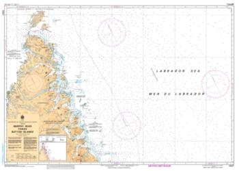 MURPHY HEAD TO/AUX BUTTON ISLANDS (5027) by Canadian Hydrographic Service