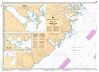 GREEN BAY TO/A DOUBLE ISLAND (5030) by Canadian Hydrographic Service