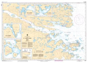 ST. LEWIS SOUND AND/ET INLET (5031) by Canadian Hydrographic Service