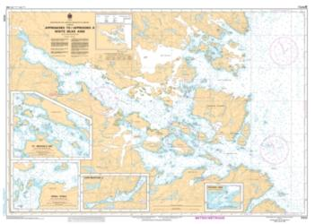 APPROACHES TO/A WHITE BEAR ARM (5032) by Canadian Hydrographic Service