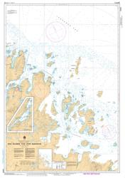 DOG ISLANDS TO/A CAPE MAKKOVIK (5045) by Canadian Hydrographic Service