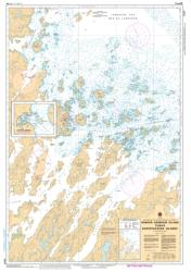 WINSOR HARBOUR ISLAND TO/AUX KIKKERTAKSOAK ISLANDS (5047) by Canadian Hydrographic Service