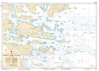 SENIARTLIT ISLANDS TO/A NAIN (5052) by Canadian Hydrographic Service