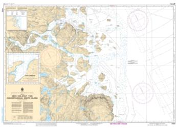CAPE KIGLAPAIT TO/A KHIKKERTARSOAK NORTH ISLAND (5055) by Canadian Hydrographic Service