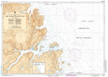 HARE ISLAND TO/A NORTH HEAD (5057) by Canadian Hydrographic Service