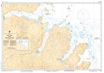 CAPE DALY TO/A AMIKTOK ISLAND (5060) by Canadian Hydrographic Service