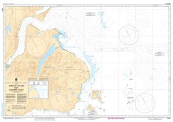 AMIKTOK ISLAND TO/A OSBORNE POINT (5061) by Canadian Hydrographic Service