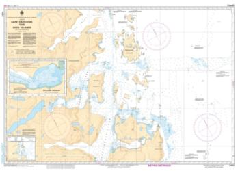 CAPE KAKKIVIAK TO/A DUCK ISLANDS (5063) by Canadian Hydrographic Service